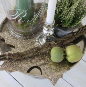 Stor guld blad - Magical Maple Leaf Decoration L
