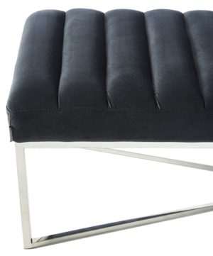 Bænk - Thompson Bench Midn Grey BESTILLINGSVARER