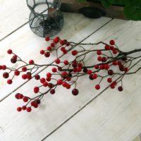Bærkvist, rød - 80 cm