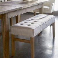 Bænk - Madison Bench, cotton, sand BESTILLINGSVARER