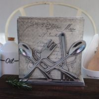 Servietholder - Classic Cutlery Napkin Holder