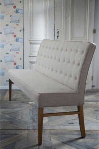 Spisebords bænk - Cape Breton Bench 168 cm, linen flax PÅ LAGER