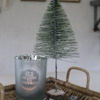 Grøn Juletræ m. sne - Salzburg Christmas Tree M