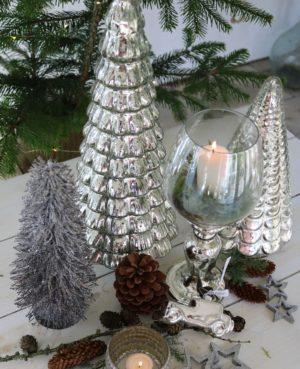 Sølv juletræ - Fifth Avenue Christmas Tree