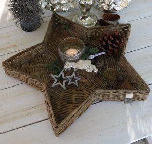 Stor stjerne bakke - RR Winter Star Tray L