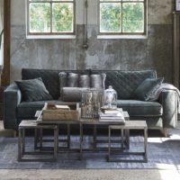 Sofa - Kendall Sofa 3,5 Seater, velvet, ivy BESTILLINGSVARER