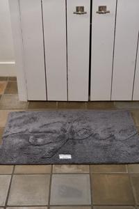 Bademåtte mørkegrå - Bath Mat 'Spa' anthracite