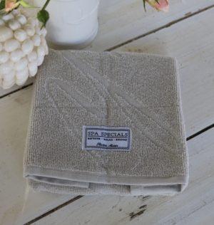 Gæstehåndklæde lysegrå - Spa Specials Guest Towel 50x30