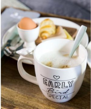 Kop med fugl - Early Bird Special Mug