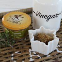 Tapenade af grønne land oliven