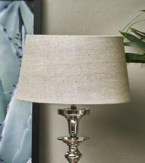 Lampeskærm - Loveable Linen Lampsh nat. 25x30