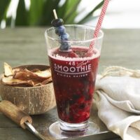 Smoothie glas - Homemade Smoothie Glass