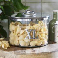 Opbevaringsglas - XL Metal Storage Jar