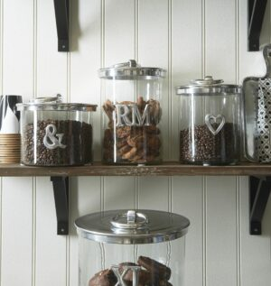 Opbevaringsglas - XL Metal Storage Jar