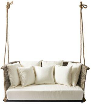 Hængesofa - Rustic Rattan Can Carlos Hanging Sofa
