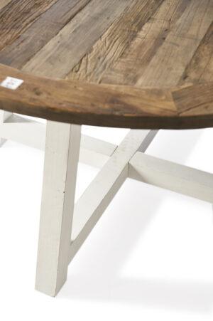 Spisebord - Canyamel Dining T140 dia White Legs BESTILLINGSVARER