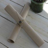 Brunt papir i bundt - 22 bundter