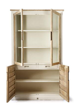 Vitrineskab - Pacifica Glass Cabinet