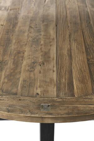 Spisebord - Canyamel Dining Table Black Legs 140 Dia