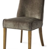 Spisebordsstol - Bridge Lane Dining Chair Vel Brown BESTILLINGSVARER