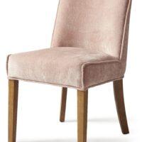Spisebordsstol – Bridge Lane Dining Chair Vel Pink BESTILLINGSVARER