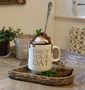 Chokoladekage i kop - på kun 5 min