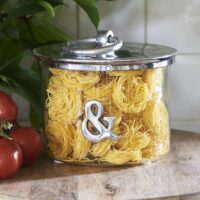 Opbevaringsglas - & Metal Storage Jar