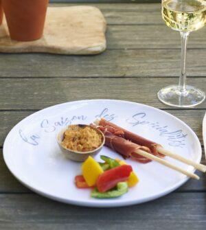 Melamin tallerken - Speciality Summer Dinner Plate 2 STK.