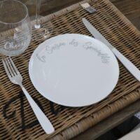 Melamin tallerken - Speciality Summer Breakfast Plate 2 STK.