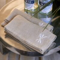 Mundserviet - Traditional Tassel Napkin flax, 2 STK.