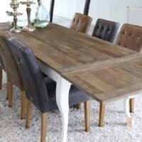Spisebord - Driftwood Dining Table extendable, 180/280x90 cm BESTILLINGSVARER