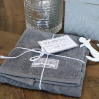 Gæstehåndklæde mørkegrå – Spa Specials Guest Towel 50×30