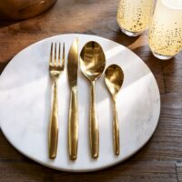Guldbestik - Classic RM Cutlery soft gold 4 stk.