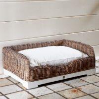 Hundekurv -  Rustic Rattan Classic Dog Basket L BESTILLINGSVARER