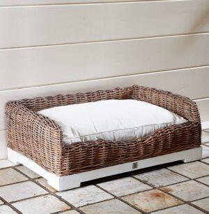 Hundekurv -  Rustic Rattan Classic Dog Basket L