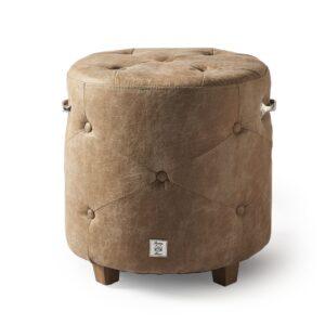 Siddepuf - Bowery Footstool Pellini Camel BESTILLINGSVARER
