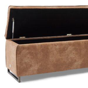 Bænk - Club 48 Bench With Lid, pellini, camel BESTILLINGSVARER