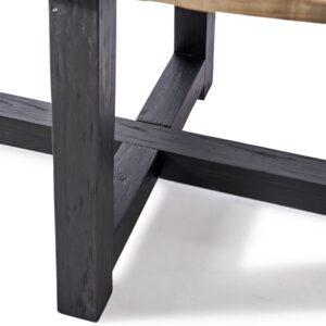 Ovalt spisebord - Canyamel Dining T Oval Black Base 230 BESTILLINGSVARER