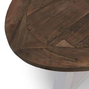 Ovalt spisebord - Canyamel Dining T Oval White Base 230 PÅ LAGER
