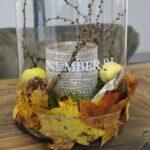 Efterårspynt til bordet - styling af hurricane
