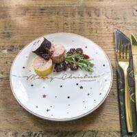 Juletallerken - Sparkling Christmas Plate Dia 21