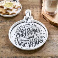 Juletallerken/fad - Christmas Ornament Plate M. UDSOLGT