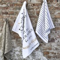 Juleviskestykke - May All Your Meals Tea Towel