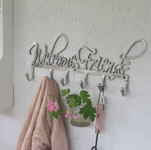 Knagerække - Coatrack Welcome Friends