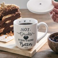 Krus m. låg - Lovely Hot Drinks Mug