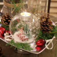 Lysestage - Christmas World Tealight Holder M
