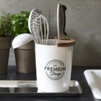 Opbevaringskrukke - Premium Cutlery Organiser