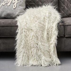Plaid - Siberian Faux Fur Throw wh170x130