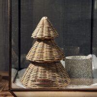 Rattan juletræ - RR Merry Christmas Tree S