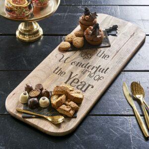 Skærebræt - Most Wonderful Time Chopping Board